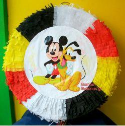 """Πινιάτα """"Mickey"""" Στρογγυλή"""